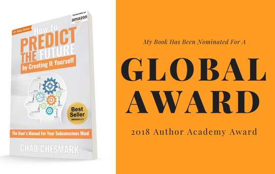 """My Book """"How to Predict the Future By Creating It Yourself"""" Has Been Nominated For a Global Award"""